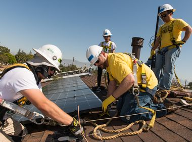 Environmentally Impacted Communities Benefit From Solar