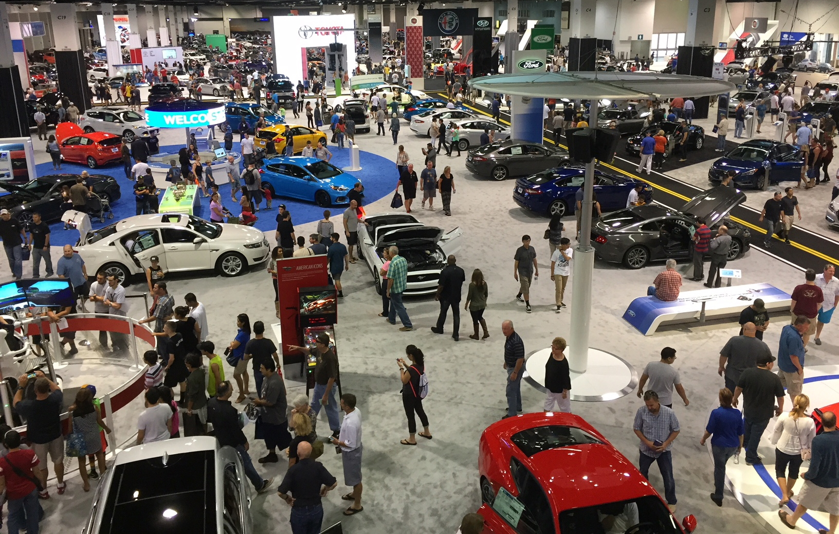 The OC Auto Show runs from Oct. 3-6 at the Anaheim Convention Center.
