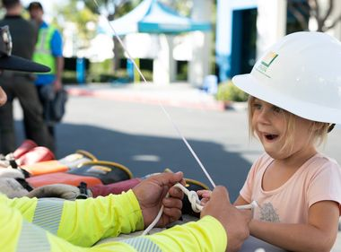 Children Learn What It Takes to Keep the Lights On