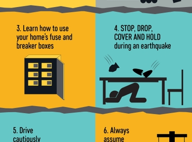 Earthquake Safety Tips for the Next Big One