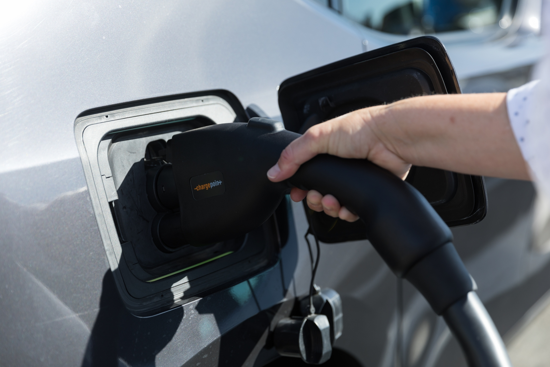 EV drivers can now plug into fast chargers while they shop and eat at H Mart Shopping Center in Garden Grove thanks to SCE's Charge Ready program.