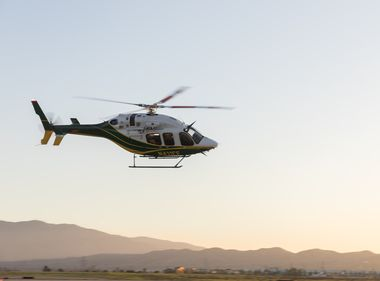 Two New Helicopters Help Support Wildfire Mitigation Efforts