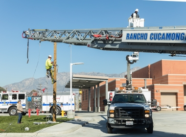 SCE Helps With Firefighter Safety Near Power Lines