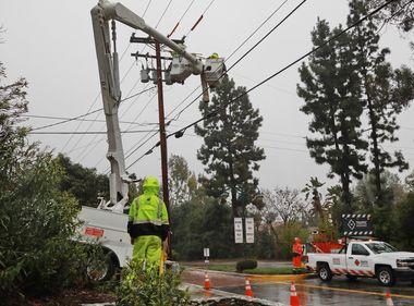 SCE Crews Prepared as Late Winter Storm Hits California