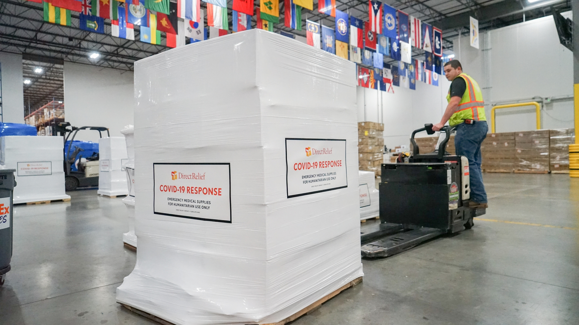 Edison International's $58,000 donation to Direct Relief will help deliver medical and emergency supplies to community clinics and health centers in Southern California.