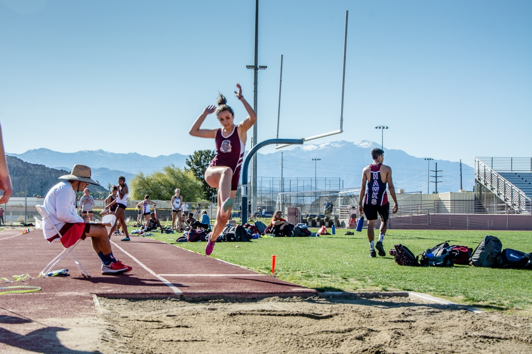 Lizbeth Arias, 2020 Edison Scholar and Rancho Mirage High School senior, is on varsity teams for track, tennis and soccer.