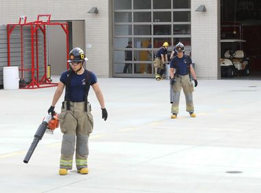 Fire Tech Students Learn About Electrical Safety