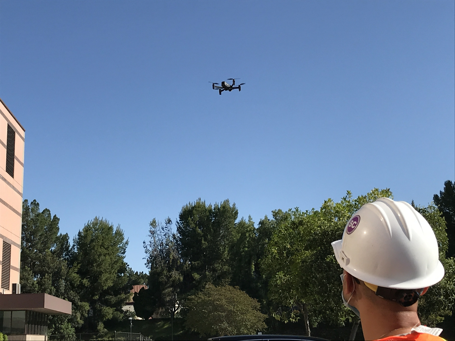 Patrick Le, an SCE engineer who started flying this drone last year, calls it safer and more effective because of the quality of data delivered without putting anyone in harm's way.