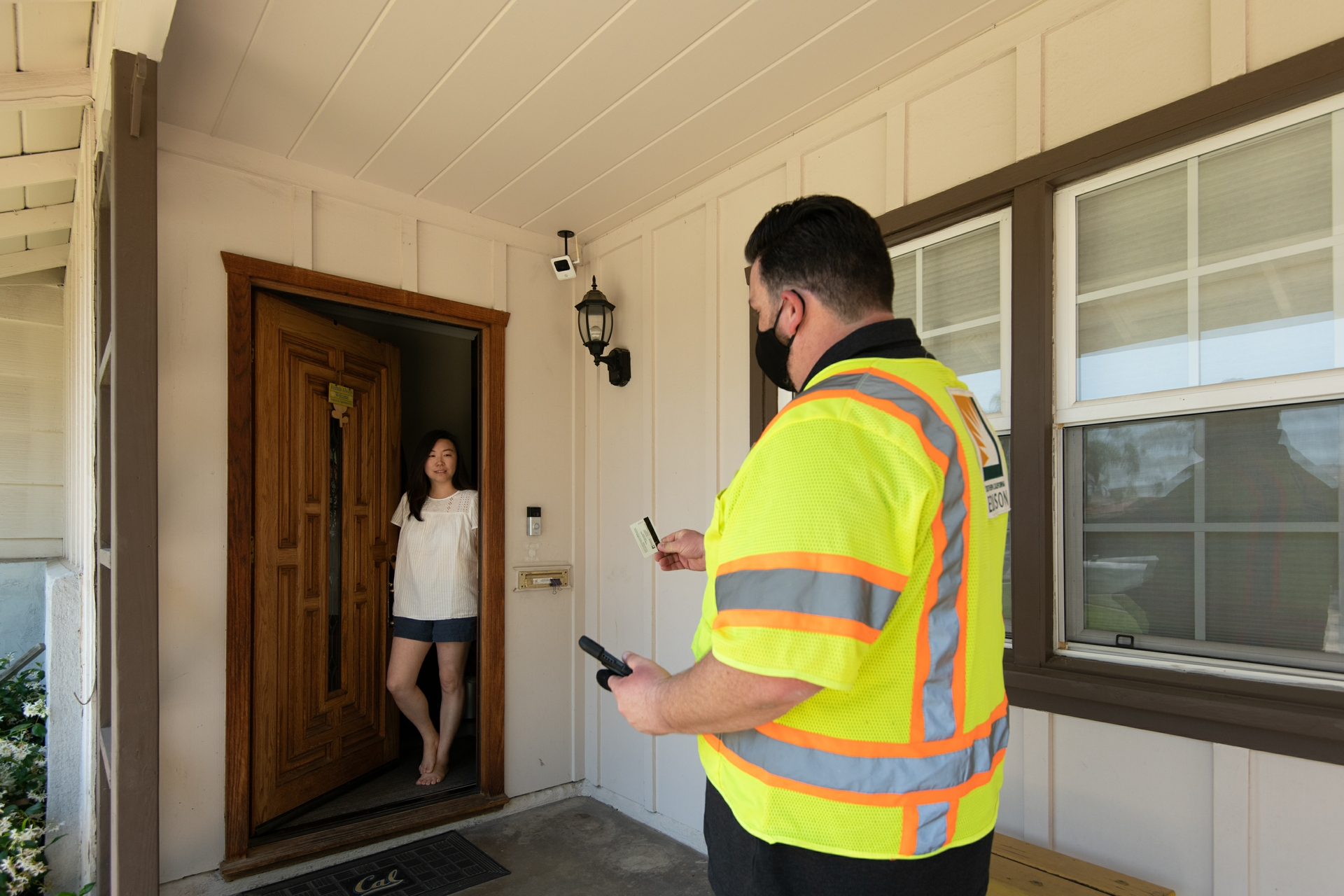 Electrical system inspectors often visit on average 20-25 different customer locations a day.