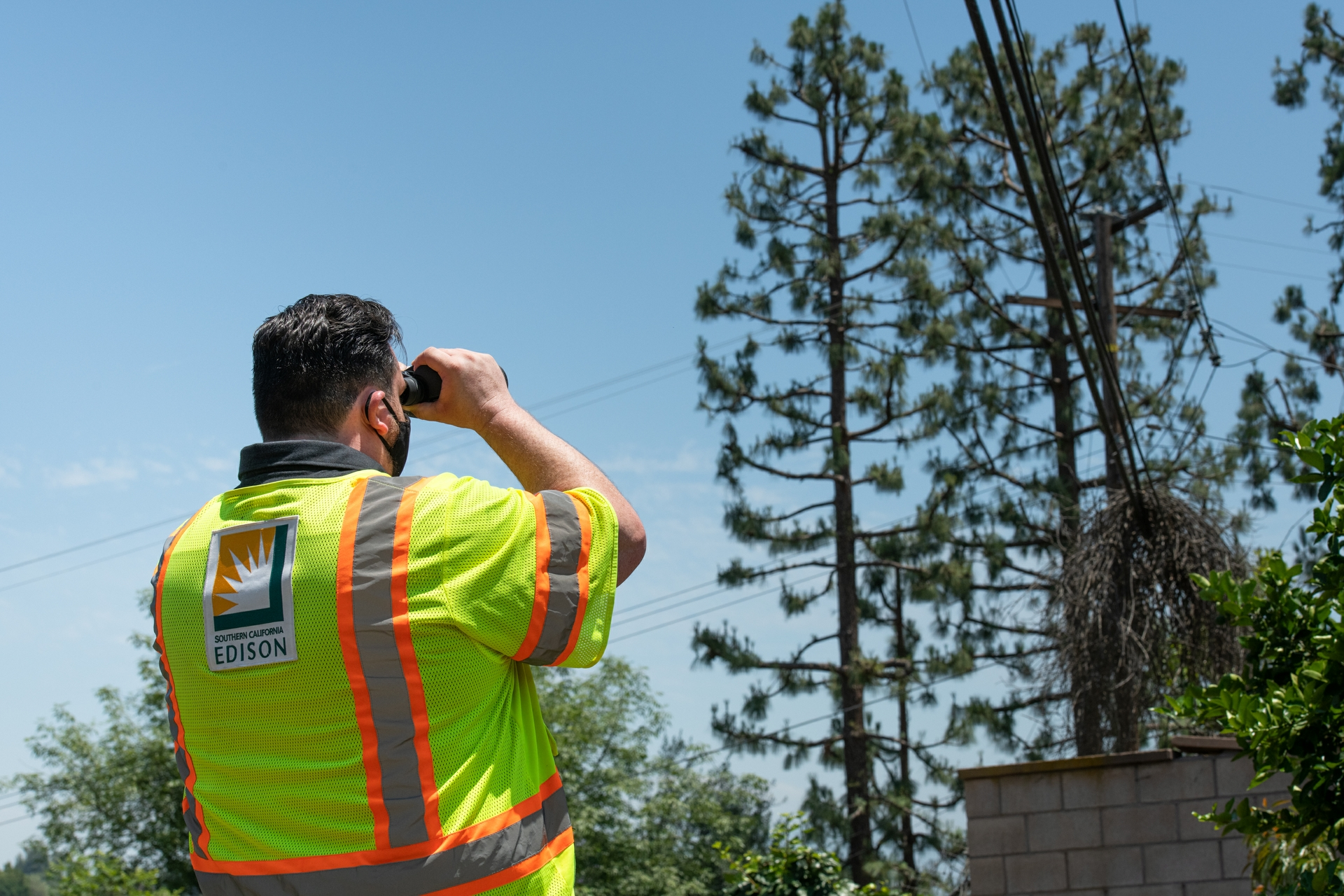 With increased wildfire mitigation efforts across SCE's service area, more inspections are taking place.