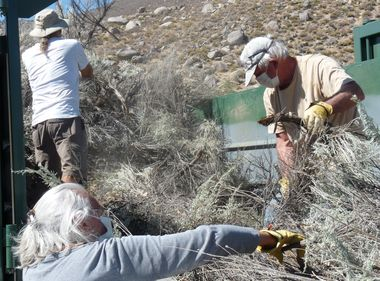 Local Residents in Old Wilkerson Work to Increase Wildfire Safety