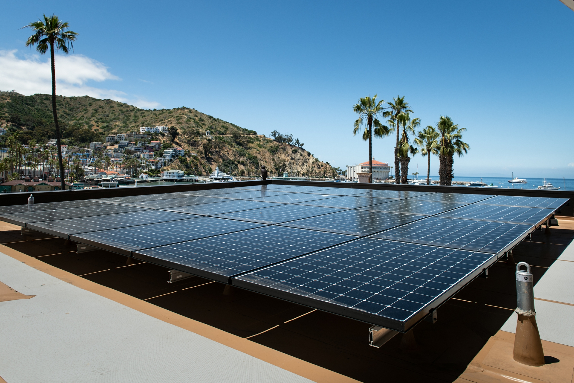 Renewable energy is part of the formula to reduce emissions on Catalina by at least 63%