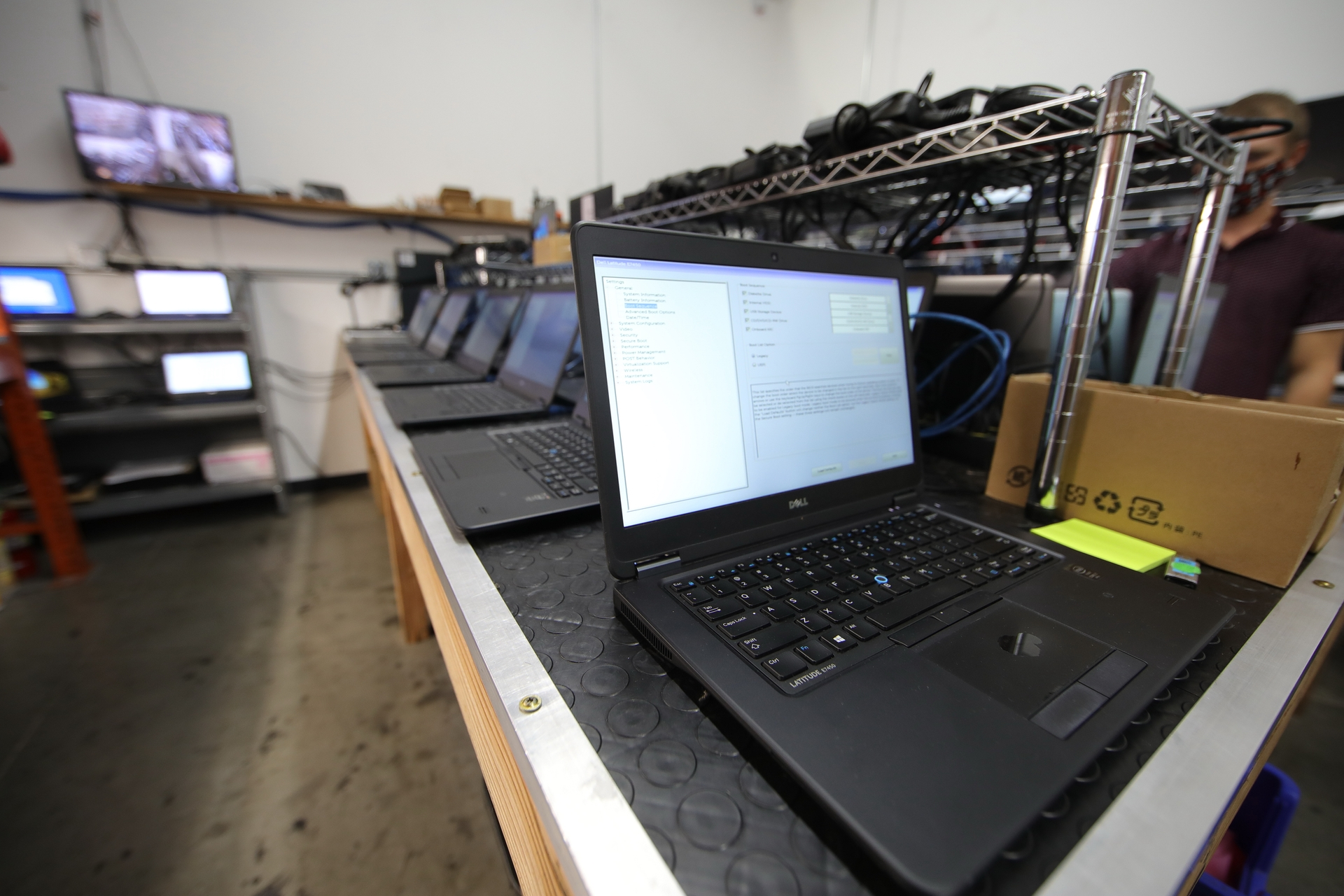 Edison International recently donated 600 refurbished laptops to the California Bridging the Digital Divide Fund.