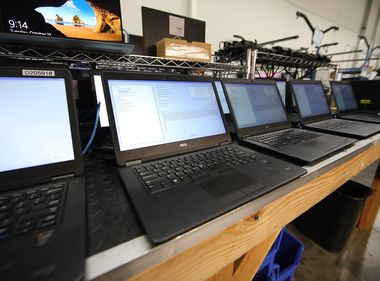 Laptop, Hot Spot Donations Help Bridge Digital Divide