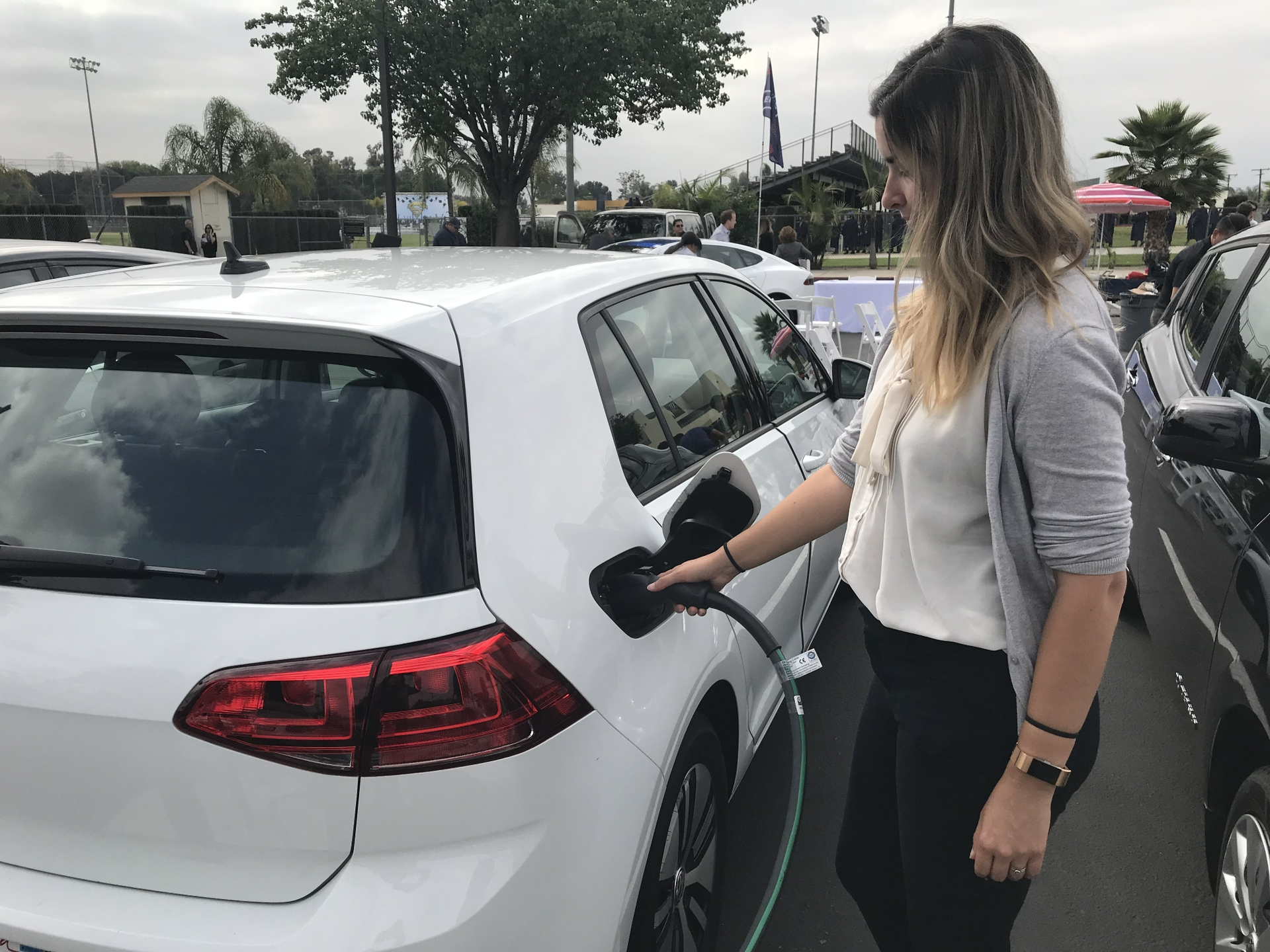 Customers who purchase or lease a new or used all-electric or plug-in hybrid vehicle can receive a $1,000 Clean Fuel Reward rebate until Dec. 31.