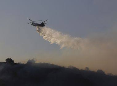Helitanker Provides Vital Support During Busy Fire Season