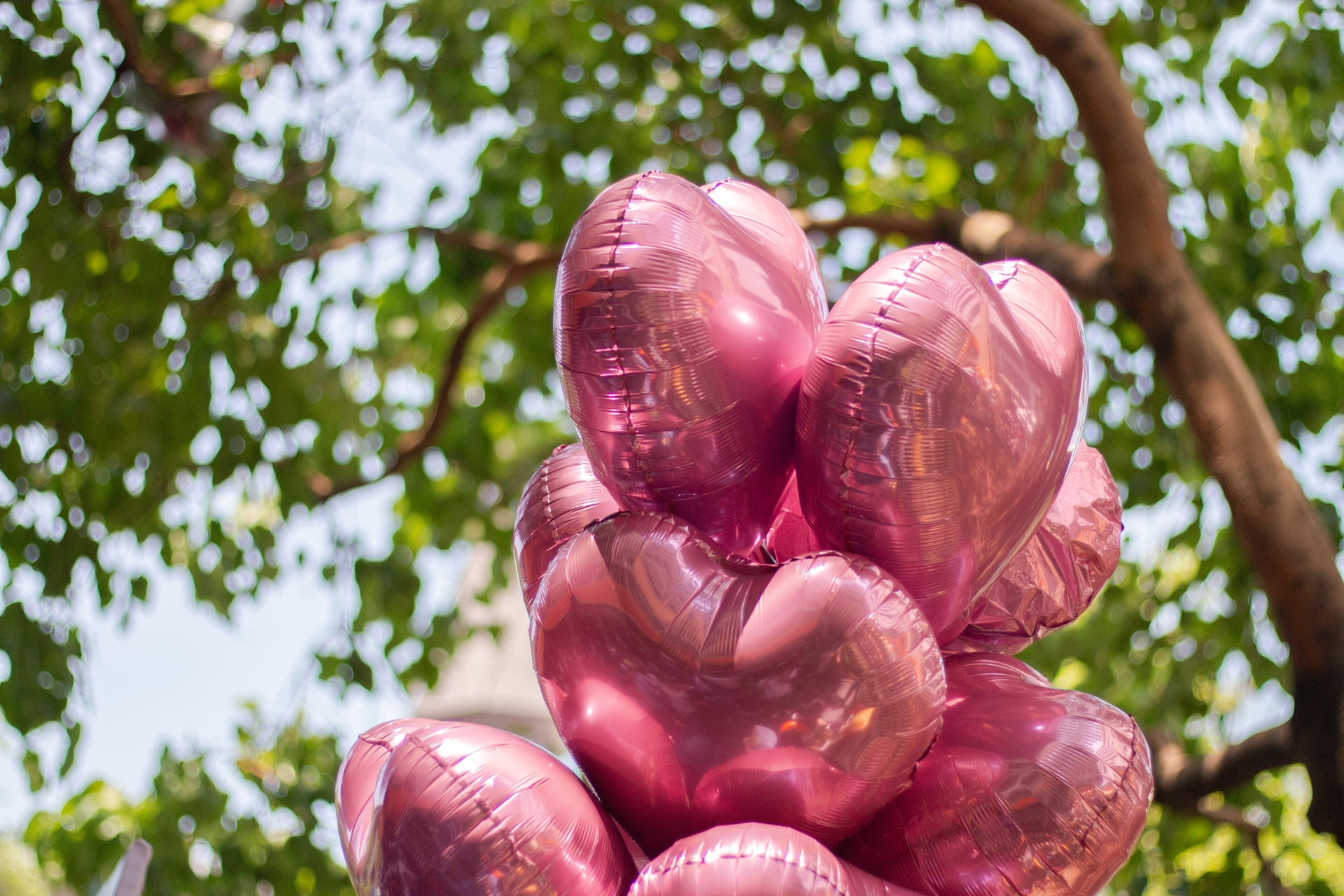 Metallic balloons should never be released outdoors and should always be tied to a weight.