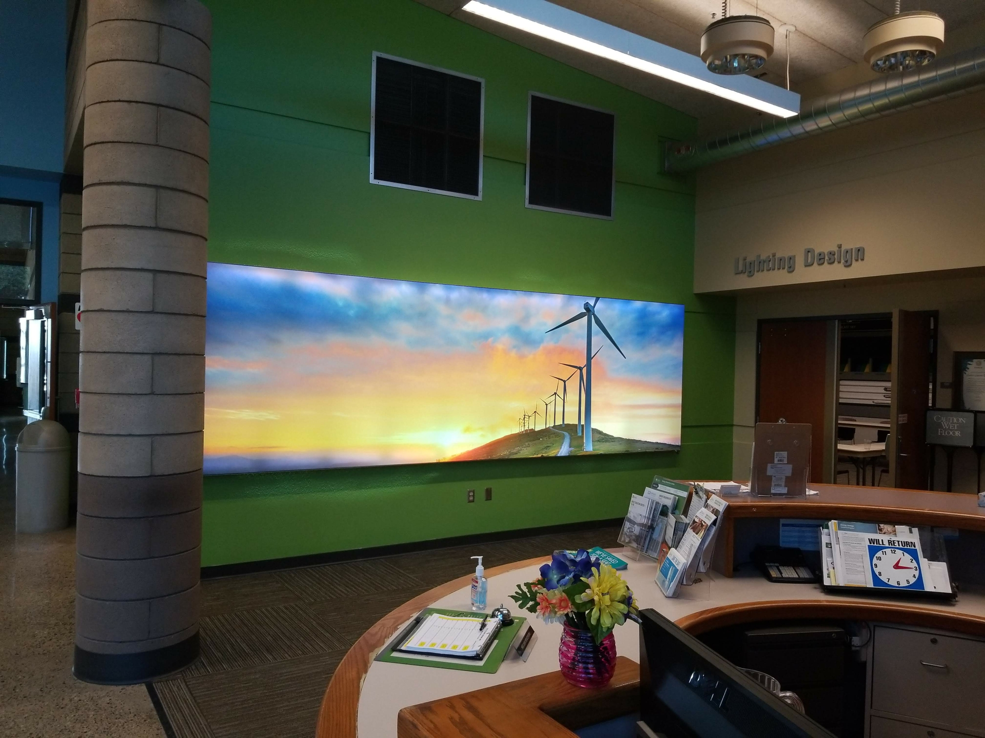 Business customers can learn more about energy-efficient technology and how to reduce energy bils at the utility's Energy Education Centers.