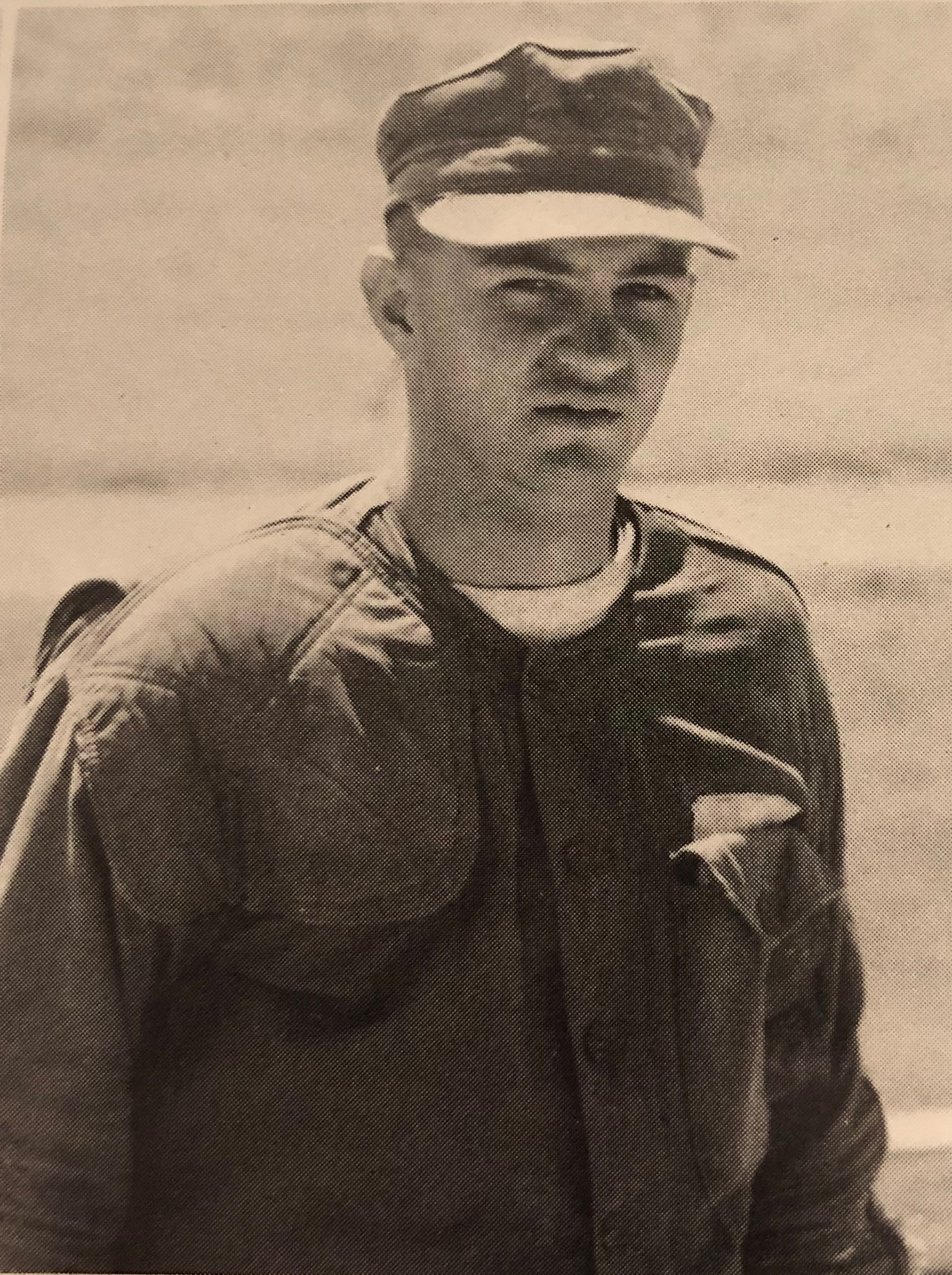 Pat Lavin in the U.S. Marines in 1969.