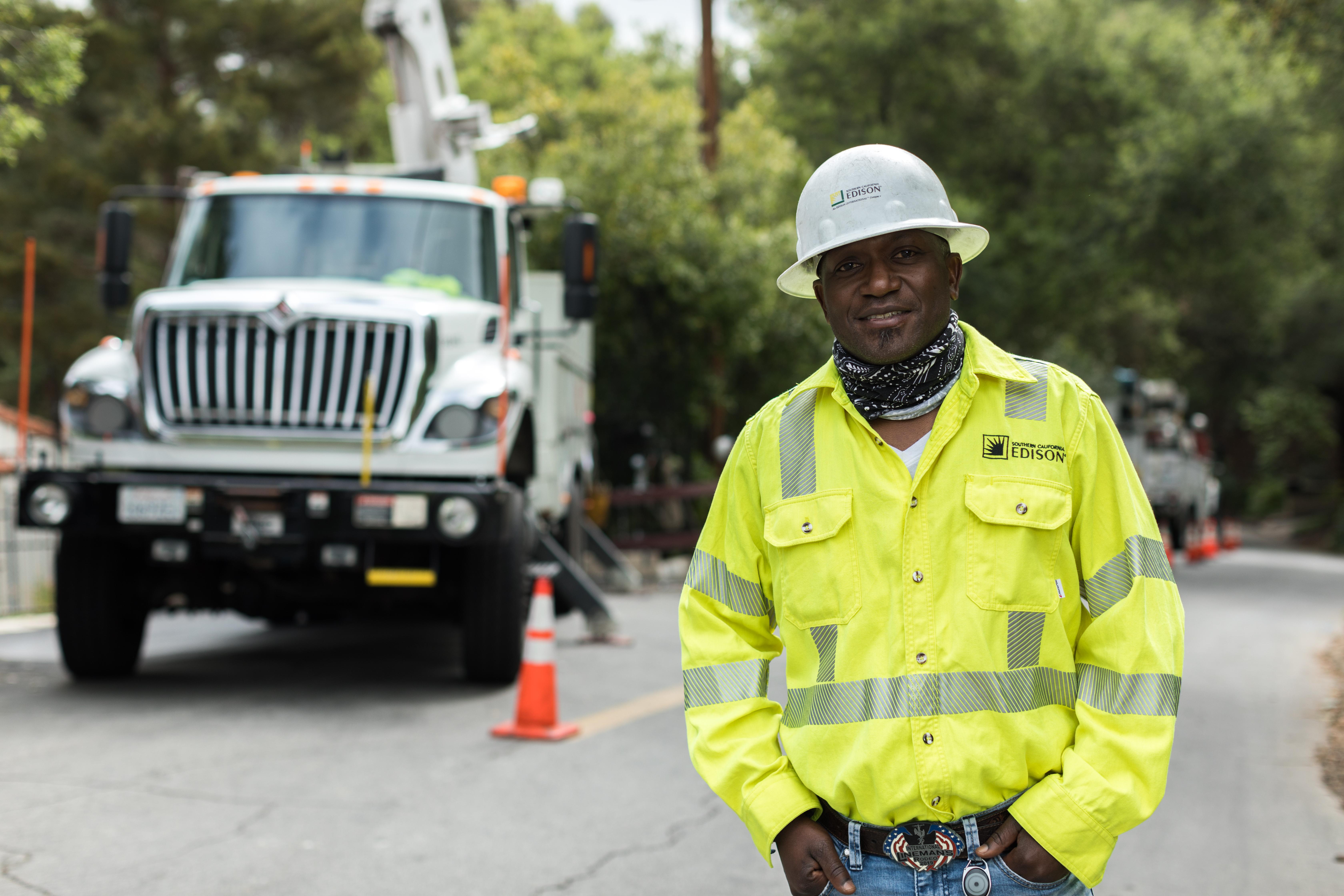 Eric Jones is a former SCE meter reader, groundman, apprentice, lineman, e-crew foreman and now field supervisor.