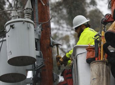 Grateful to Crews on National Lineman Appreciation Day