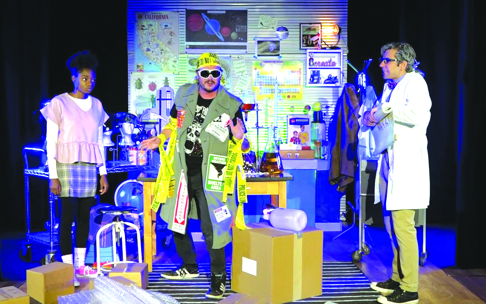 Penelope Planner and Dr. Scientist encounter Calamity Dwayne, a living disaster waiting to happen!
