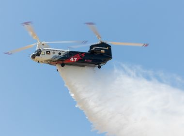 Helitankers Prepare to Take Flight Against SoCal Wildfires