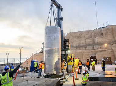 SCE Engineers Honored for Enhancing Spent Nuclear Fuel Canister Safety