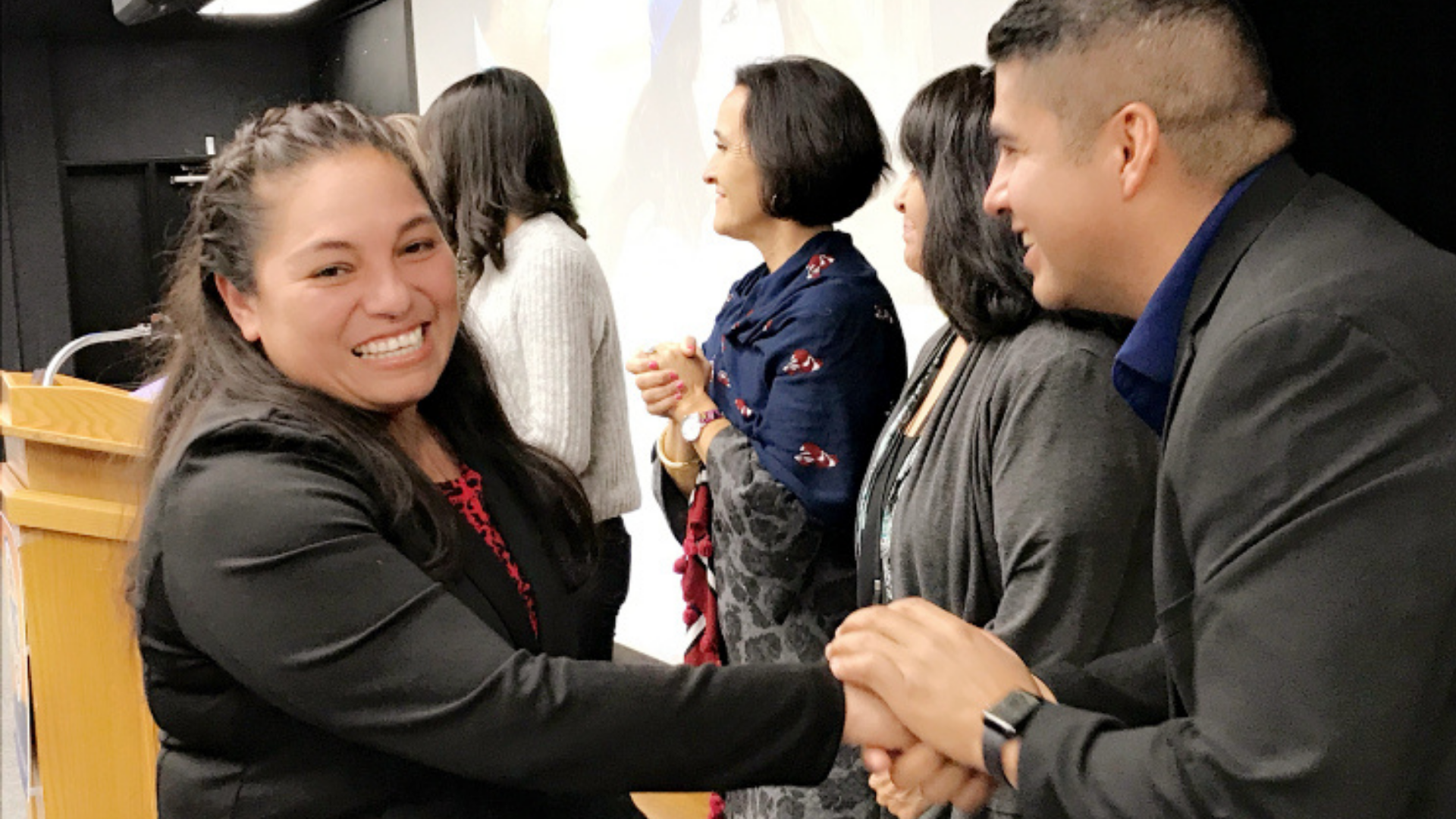 Many of PIQE's parent-graduates are first-generation Americans who did not attend college or come from families where college was considered out-of-reach.