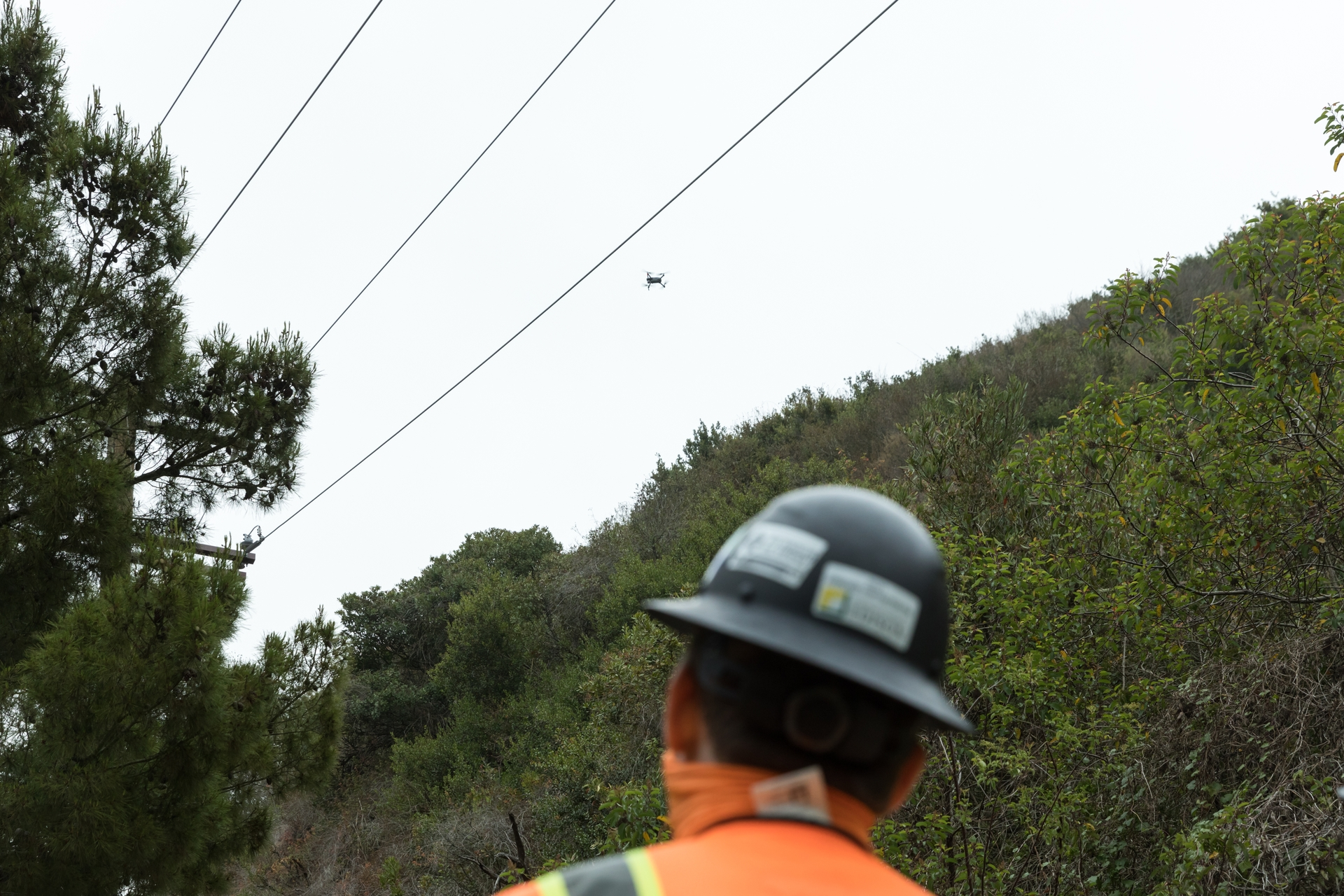 Though SCE has conducted a Beyond Visual Line of Sight pilot, operators still only fly drones for inspections within their line of sight.