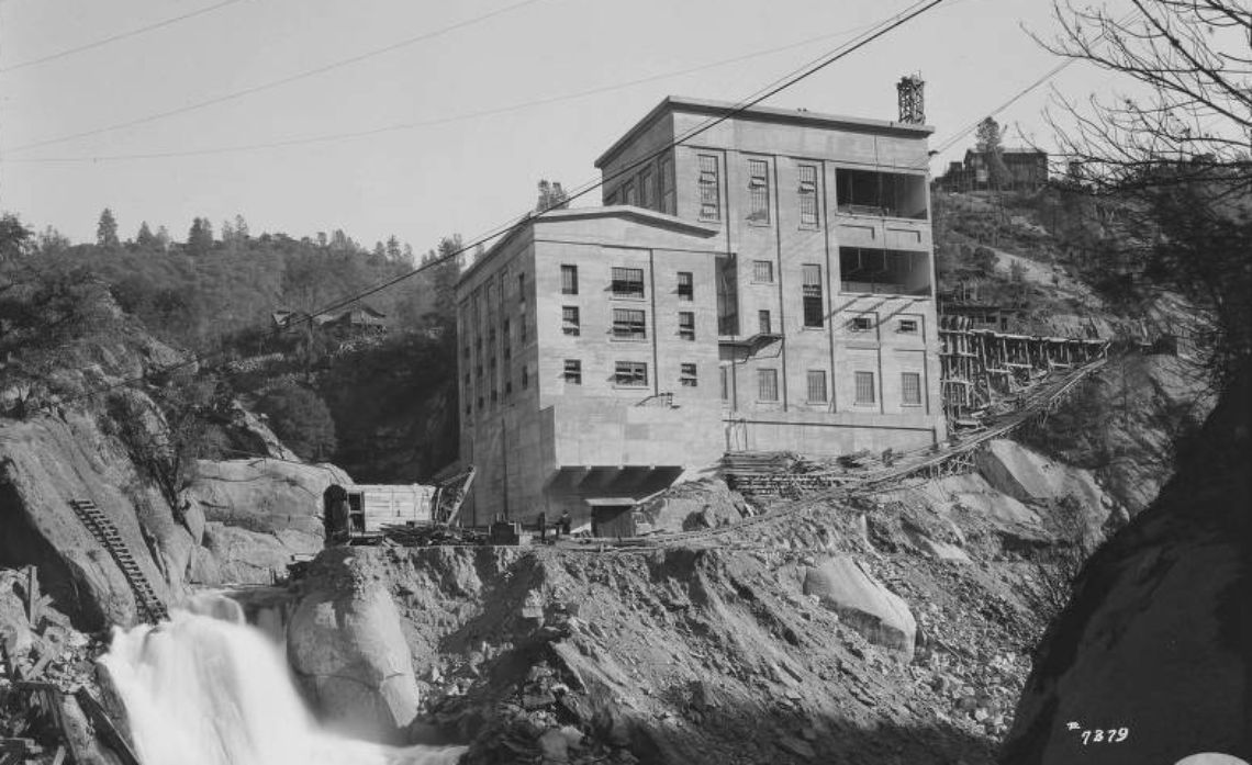 October 1921: The completed Powerhouse 8.