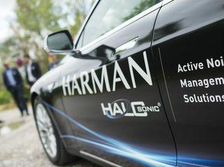 O som da segurança: HARMAN HALOsonic