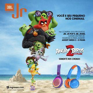 JBL e Angry Birds 2 – O Filme preparam ação conjunta pelo Dia das Crianças