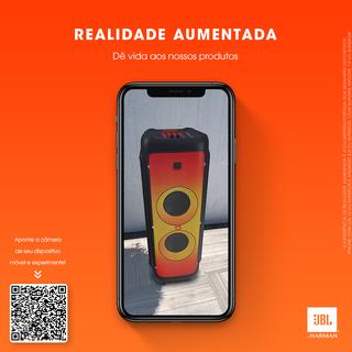 JBL disponibiliza recurso de Realidade Aumentada em sua loja online
