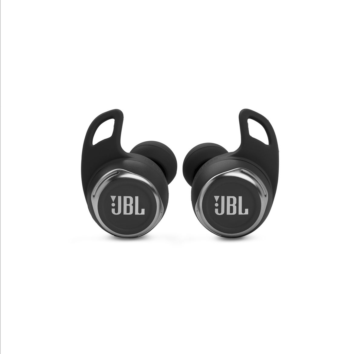 1. JBL_REFLECT_FLOW_PRO_Product Image_Earbuds Front_Black