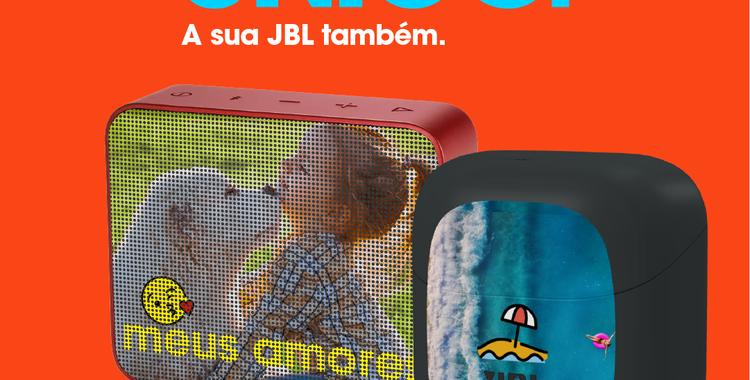 Campanha Personalizados JBL