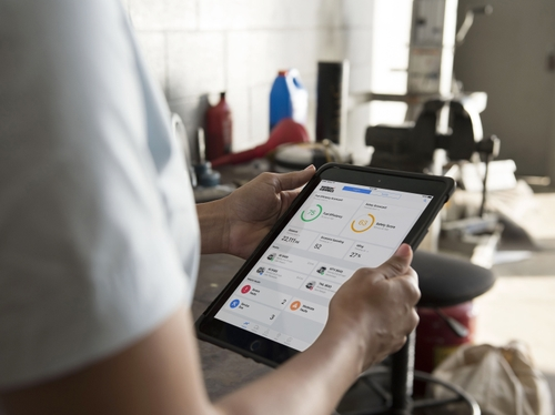 Verizon Connect -Tablet Interface