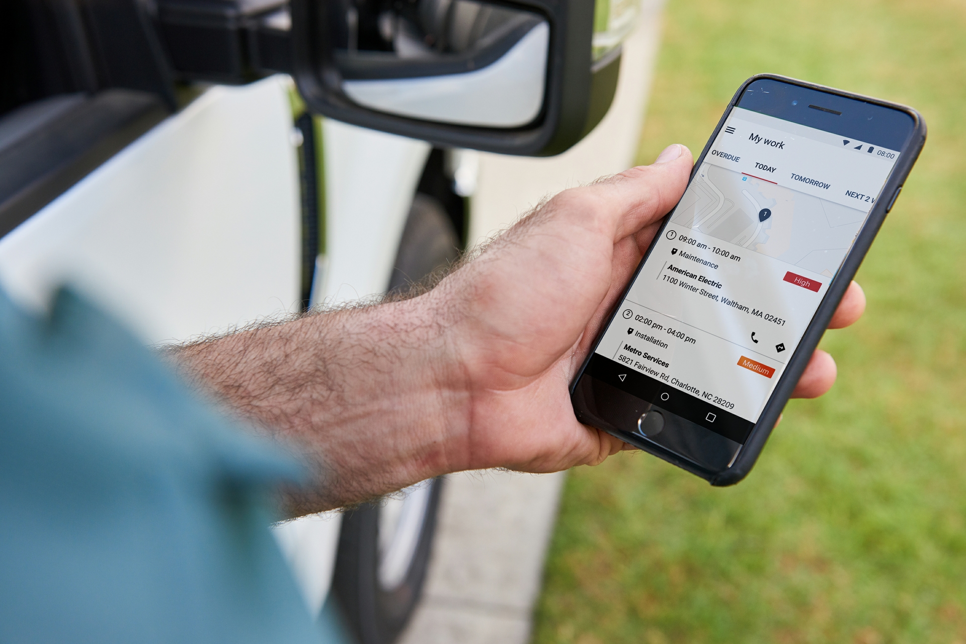 Fleet image - Mobile Work App