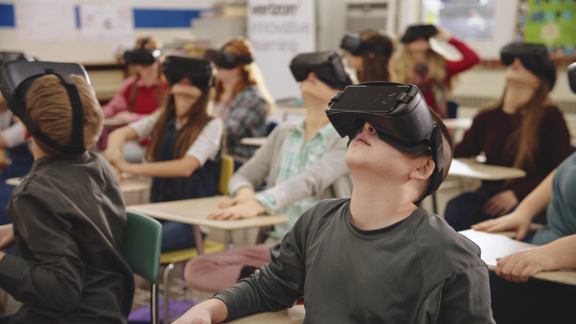 Student on VR Headset (image 2)