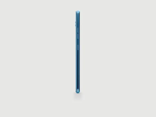 LG V40 in blue (left)