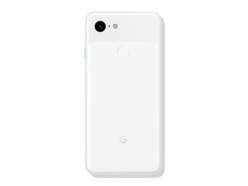 Google Pixel 3 in white (back)