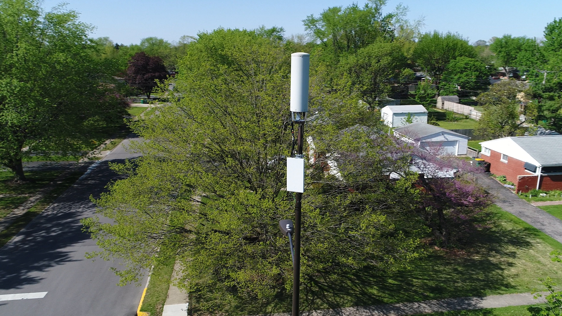 Verizon 5G small cell in Indianapolis