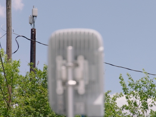 Verizon 5G small cell in Houston