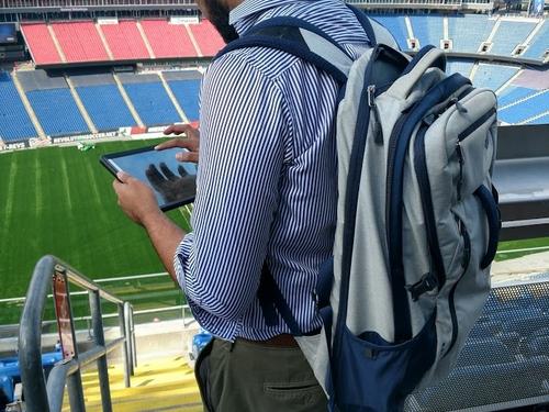 Backpack field testing