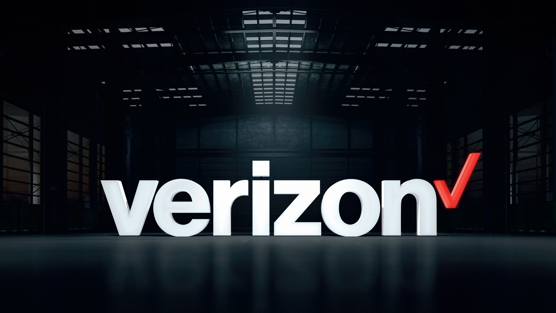 Verizon logo warehouse