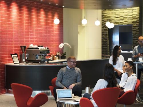 Innovation Center lobby area