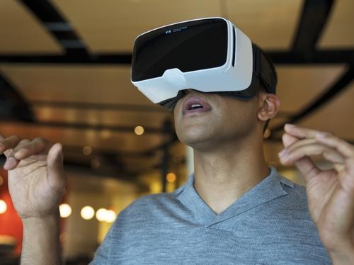 Interior Innovation Center using Virtual Reality