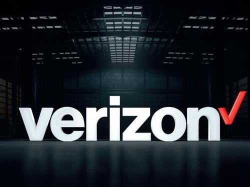 Verizon logo warehouse