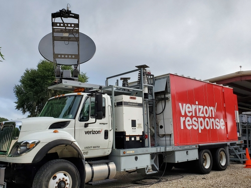 Verizon Response Satellite COLT (cell on light truck)