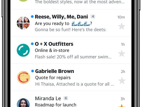 Inbox View - Screenshot - iOS